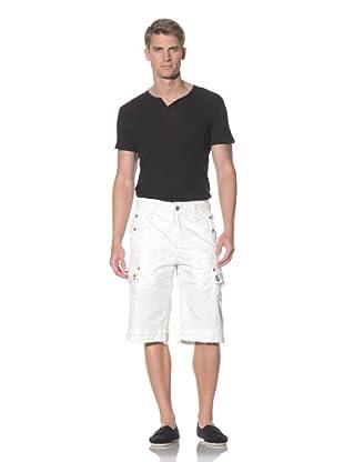 Jet Lag Men's Premium Cargo Short (Off white)