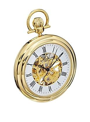 Stührling Original Uhr mit Schweizer Mechanikuhrwerk Vintage 6053.33333 goldfarben 47  mm