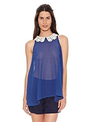 Azura Blusa Cara (Azul)