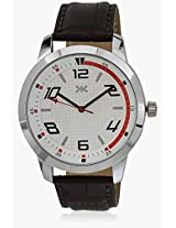 Killer Silver Dial Watch for Mens (KLW242D)