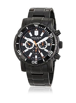 Akribos XXIV Reloj con movimiento cuarzo suizo Man AK675BK 49 mm