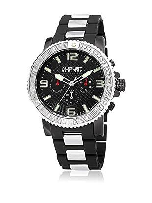 August Steiner Reloj de cuarzo Man AS8179SSB 45 mm