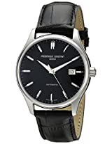 Frederique Constant Analogue Black Dial Men's Watch - FC-303B5B6