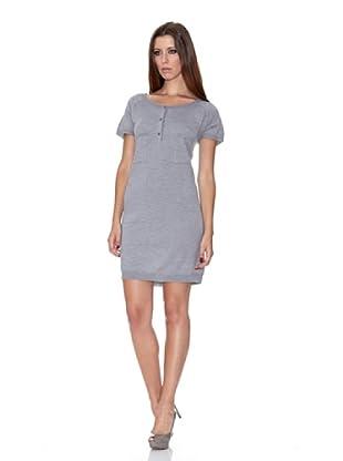 Caramelo Vestido Punto (gris)