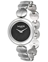 Lancaster Fashion Stainless Steel Strap Analogue Black Men's Watch-OLA0644MB/SS/NR