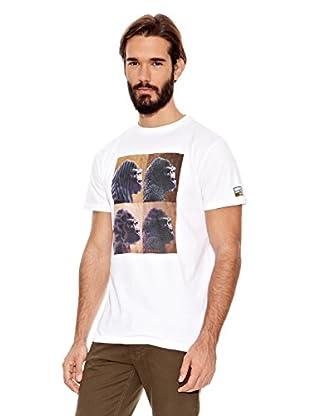 National Geographic Camiseta Ape Texture (Blanco)