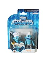 The Smurfs, Movie Figure 2 Pack, Baker & Greedy, 2.5 Inches