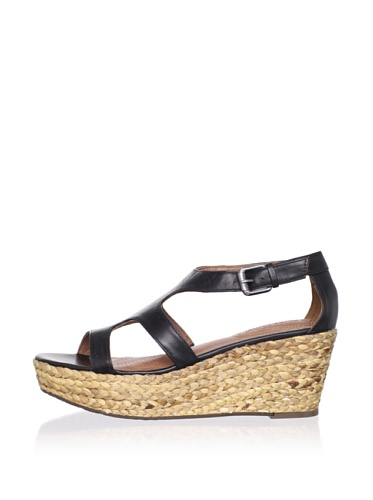 Corso Como Women's Parable Wedge Sandal (Black)