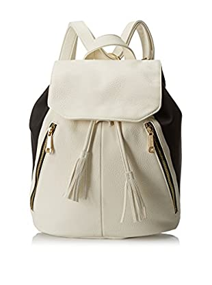 POVERTY FLATS by rian Women's 3D Panel Backpack, White