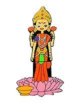 Zeztee 16 GB Pen Drive USB 2.0 God Lakshmi Cartoon Character Shape Pen Drive ZT13992