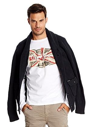 Pepe Jeans London Camiseta Manga Larga Flag Logo Ls