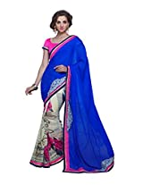 Pikasho Party Wear Cutpatch Saree 8021