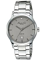 Kenneth Cole Dress Sport Analog Grey Dial Men's Watch - IKC9368