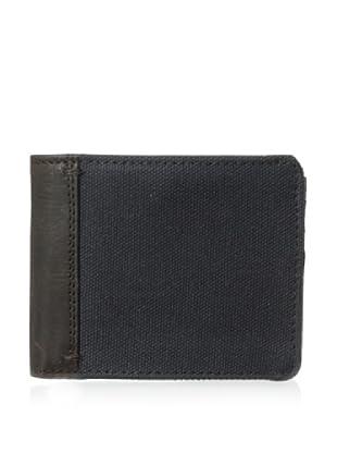 The British Belt Company Men's Oxburgh Bifold Wallet (Navy)