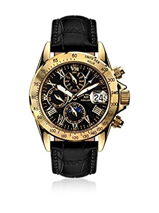 André Belfort Reloj automático Man Le Capitaine Negro 38 mm