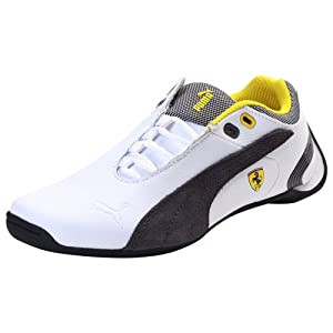 Puma Kids Future Cat M2 SF NM Jr White Dark Shadow Sports Shoes