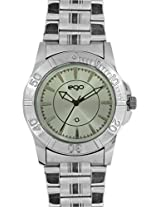 Maxima Ego Analog Silver Dial Men's Watch - E-33682CAGC