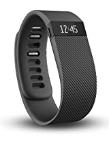 Fitbit Charge Wireless Activity Tracker and Sleep Wristband, Small (Black)