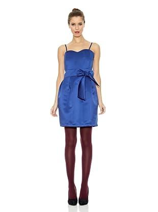 Trakabarraka Vestido Corazón Cascata (Azul Eléctrico)