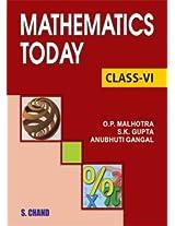 Mathematics Today for Class 6 (ICSE)