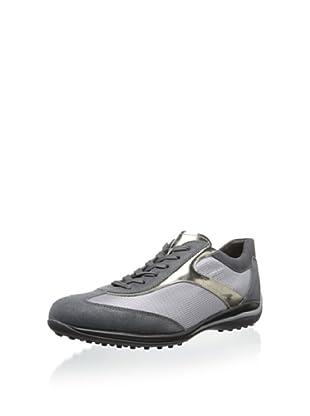 Tod's Men's Novelty Sneaker (Grey/Gold)