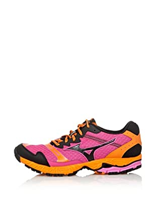 Mizuno Sneakers Running Wave Ascend 8 (Rosa/Antracite/Arancio)