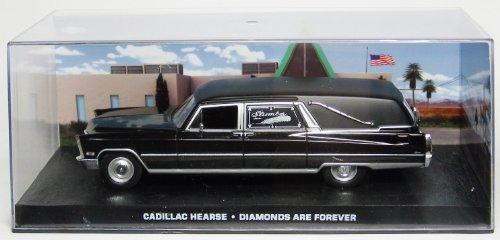 1/43 007 ボンドカー Cadillac Hearse ダイヤモンドは永遠に