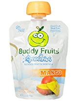 Buddy Fruits Blended Fruit And Skim Milk - Mango - 3.2 - Ounce - Pack Of 18