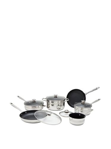 Wolfgang Puck 11-Piece Nonstick Cookware Set