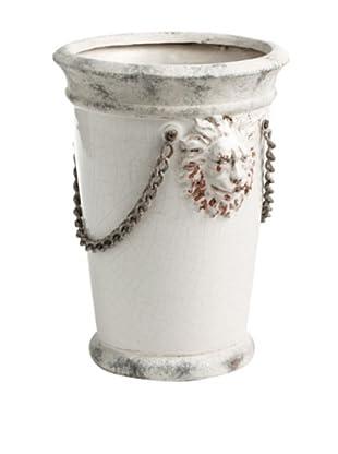 Napa Home & Garden Lascaux Handcrafted Ceramic Cachepot (White)