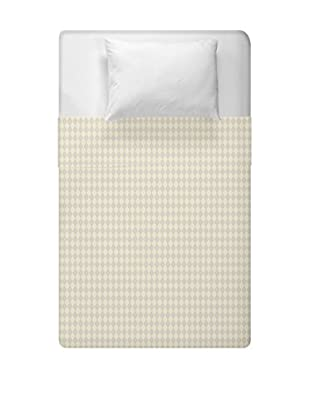 e by design Geometric Duvet Cover (Brown/Yellow)