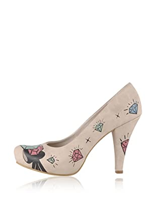 Dogo High Heel Diamond (Creme)
