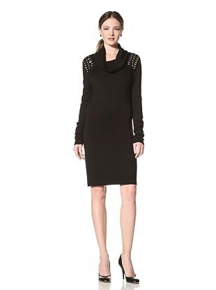 Marc New York Women's Beaded Sweater Dress (Black)