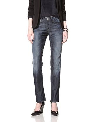Mavi Women's Molly Straight Leg Jean (Dark Dominique)