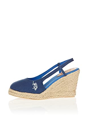 US Polo Assn Wedges Emma (Blau)