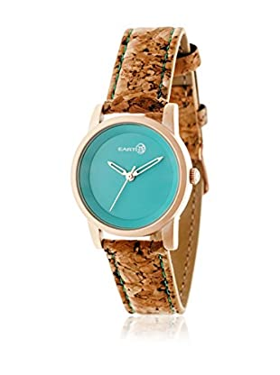 Earth Reloj con movimiento japonés Unisex Canopies Natural / Caqui 31 mm