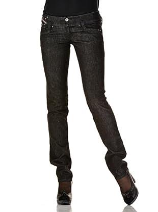 Diesel Pantalón Matic L32 (Negro Denim Wash)