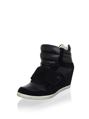 Koolaburra Women's Charlie Fashion Sneaker (Black)