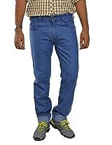 Studio Nexx Men's Denim Regular Fit Jeans -Medium Blue, (36)