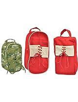 FAIR Brigade Canvas Shoe Bag Combo
