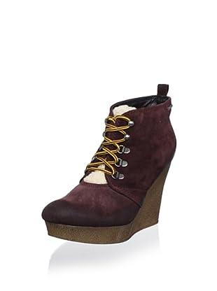 Diesel Women's Enos Ankle Boot (Red)
