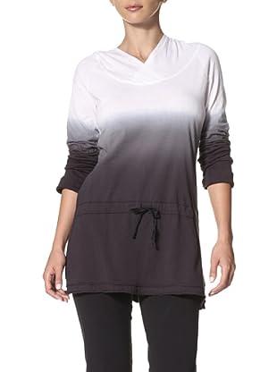 New Balance Yoga Women's Dip Dyed Tunic Top (White)