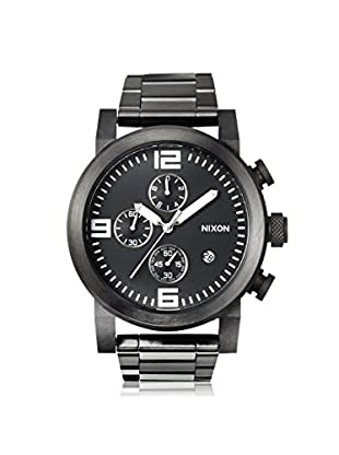 Nixon Men's A347-001 The Ride Chrono Black Stainless Steel Watch
