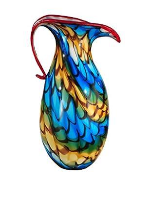 Dale Tiffany President Vase, Blue Multi