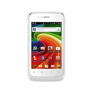 Micromax A45 Smartphone-White