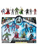 Marvel Exclusive Action Figure 8-Pack The Avengers [Iron Man Thor Captain America Hulk Black Widow Hawkeye Nick Fury & Loki]