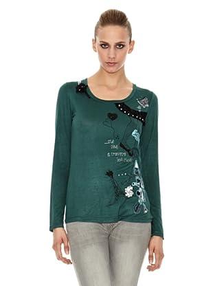Sidecar Camiseta Marilyn (Verde)