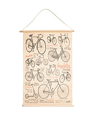 Novità Home Panel Decorativo Bycicle