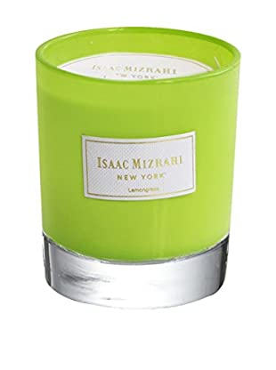 Isaac Mizrahi Scented Jar Candle, Lemongrass
