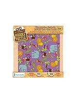 22-Piece Jungle Muddle Puzzle